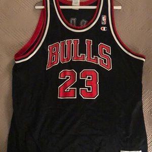 Champion NBA Chicago Bulls Michael Jordan Jersey